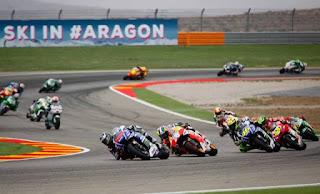 Hasil FP4 MotoGP Aragon Spanyol 2018: Lorenzo, Iannone, Petrucci