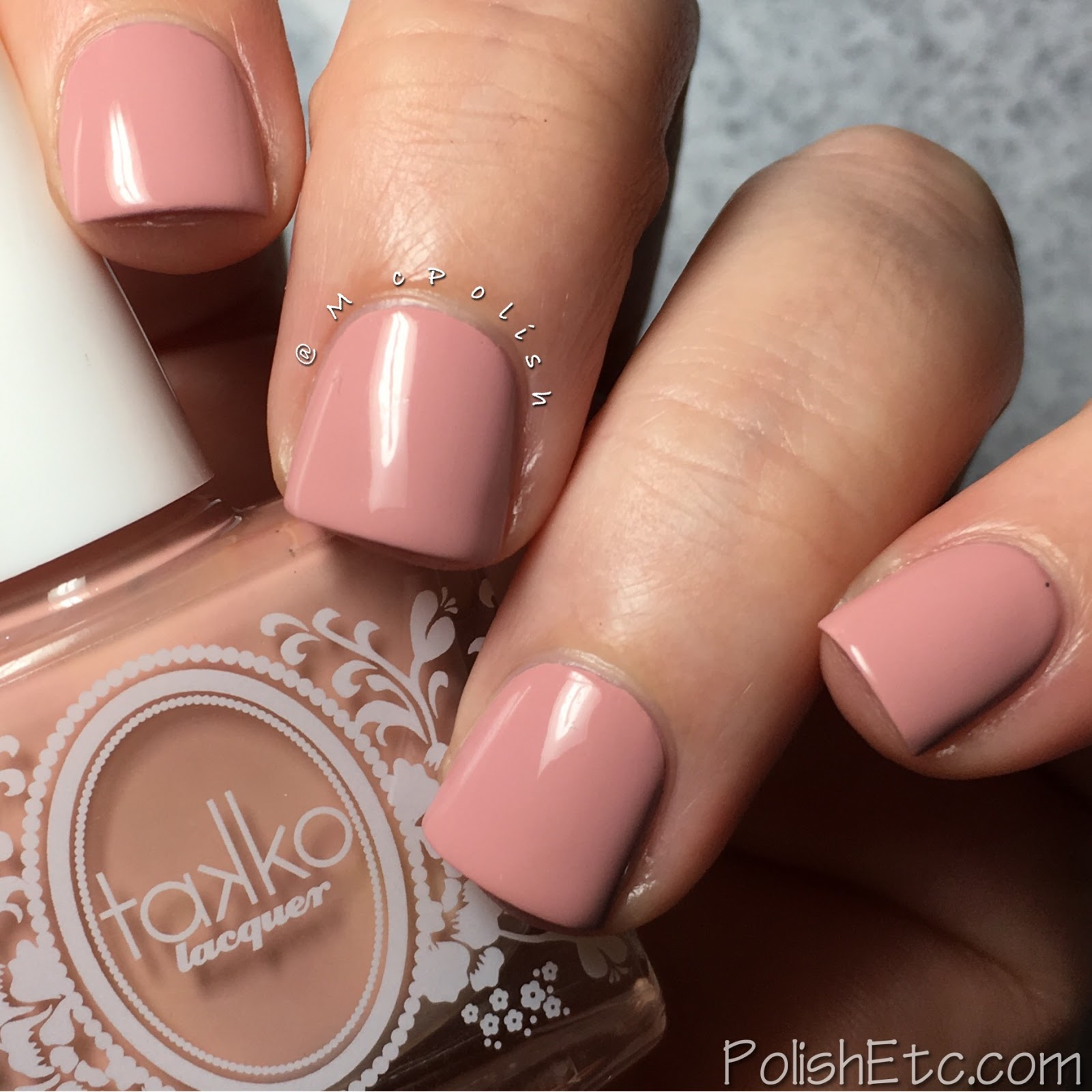 Takko Lacquer - Rose Water - McPolish