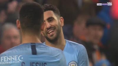هدف + كل ما قدمة رياض محرز ضد روثيرهام 06/01/2019