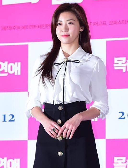 Ha Ji Won at Life Risking Romance VIP Premier - December 08, 2016