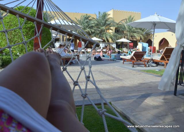 hammock in Tilal Liwa Hotel