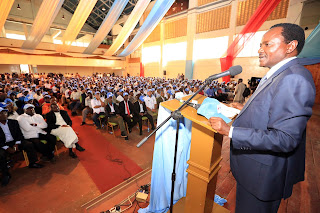 Kalonzo Musyoka threatens to leave NASA if he will not be named the flagbearer. PHOTO | Courtesy
