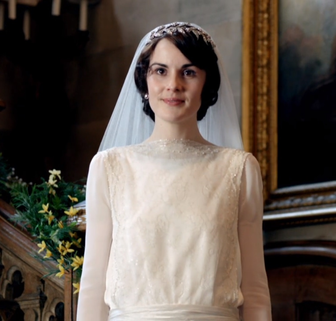 While I Often Wondered If She Deserved It Was Happy To See Mary On Her Wedding Day: Lady Mary Crawley Wedding Dress At Reisefeber.org