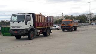 Αποστολή βοήθειας του Δήμου Αλεξανδρούπολης στη Σαμοθράκη