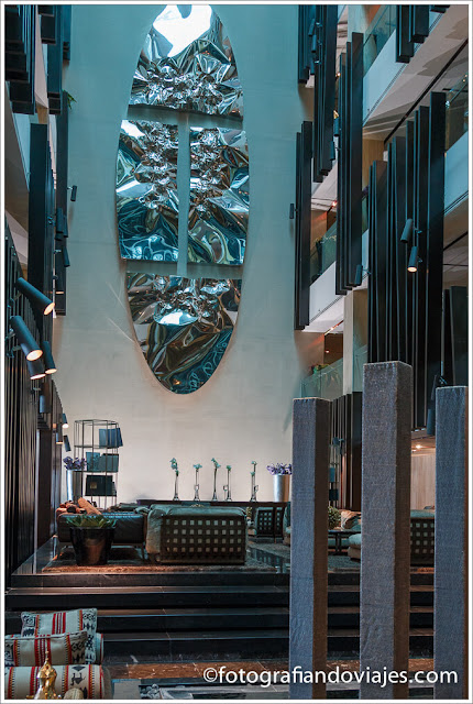Lobby del Hotel Meliá Dubai