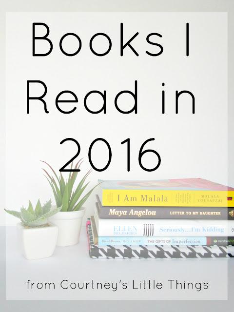 The 6 Books I Read in 2016