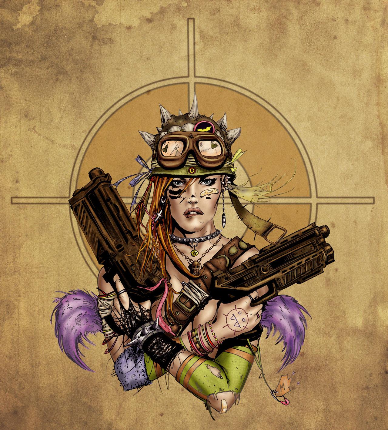 Peetee's Palace: Tank Girl