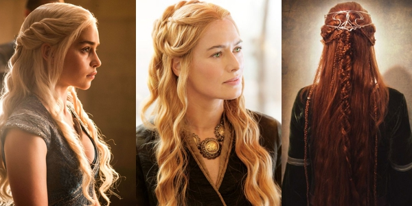 Hairstyles inspired by the Game of Thrones  The HairCut Web