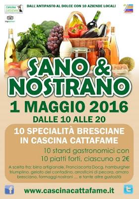 Sano e Nostrano Specialità Bresciane  1 maggio Ospitaletto (Brescia)