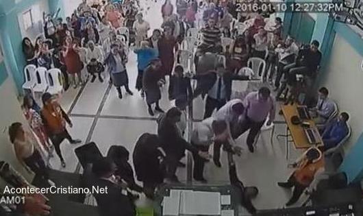 Intento de asesinato a pastor en iglesia