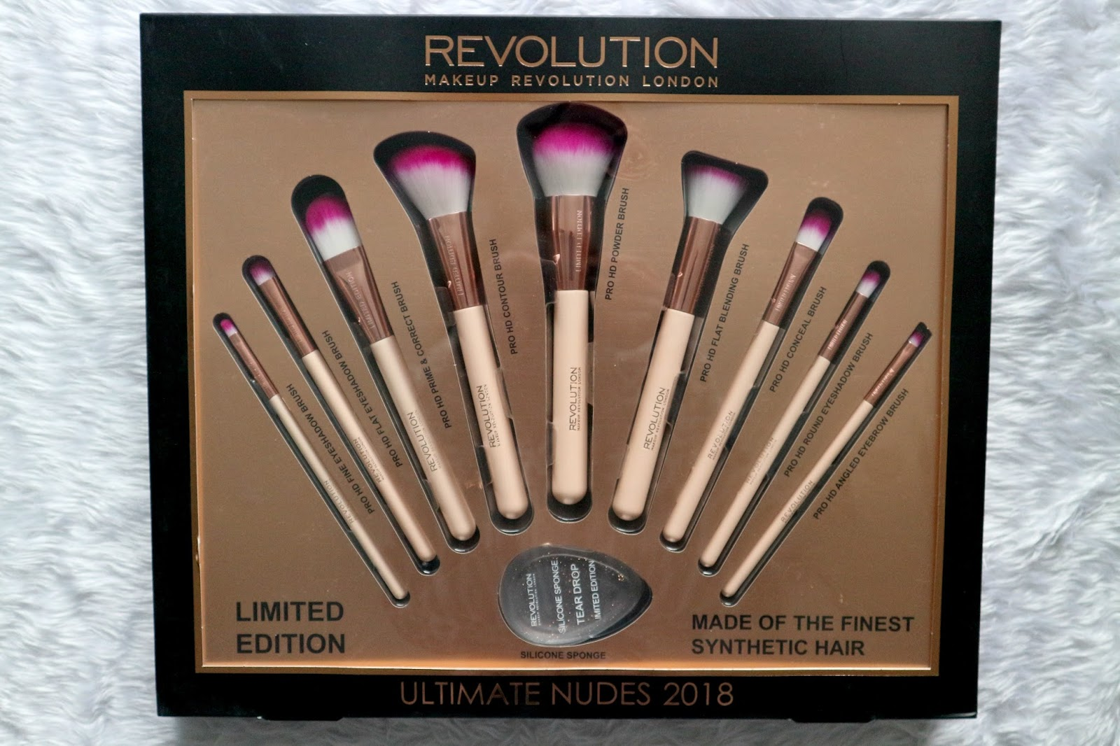makeup revolution brush set review