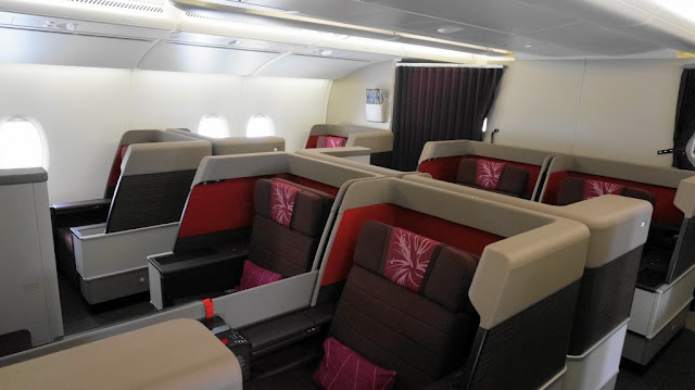 First Class Cabin Malaysia Airlines A380