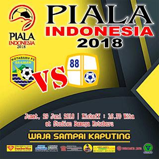 Laga Kotabaru FC vs Barito Putera Pada 29 Juni di Stadion Bamega Kotabaru