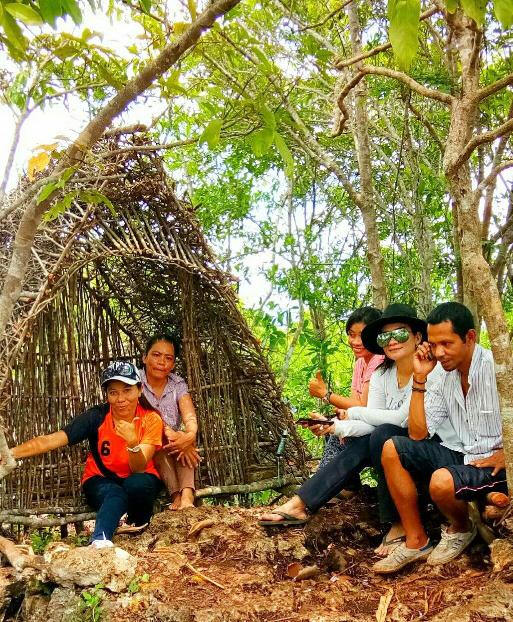 Rumah seribu ranting Puncak Baladewa