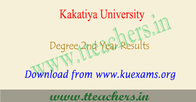 KU degree 2nd year results 2018, 3rd sem 4rth semester result