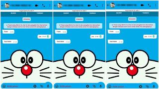 Cara Mengubah Tema Whatsapp Menjadi Tema Doraemon