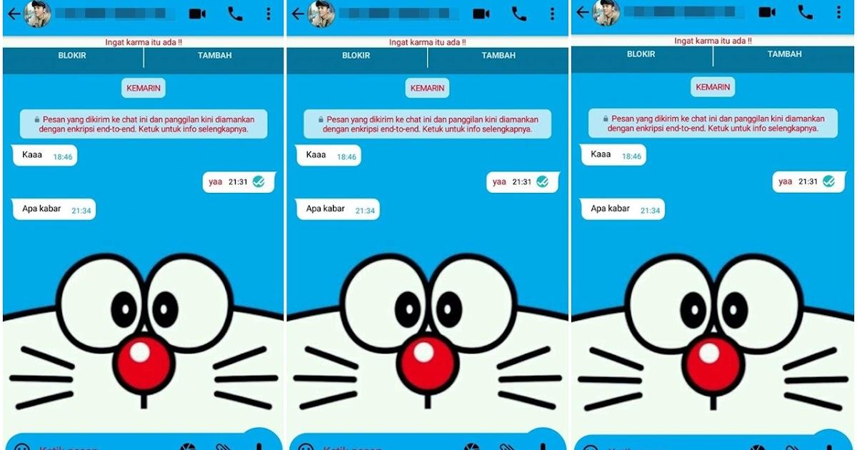Cara Mengubah Tema Whatsapp Menjadi Tema Doraemon Rumah