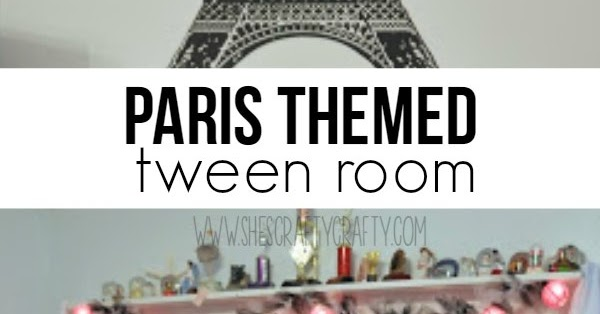 She\'s crafty: Paris themed bedroom