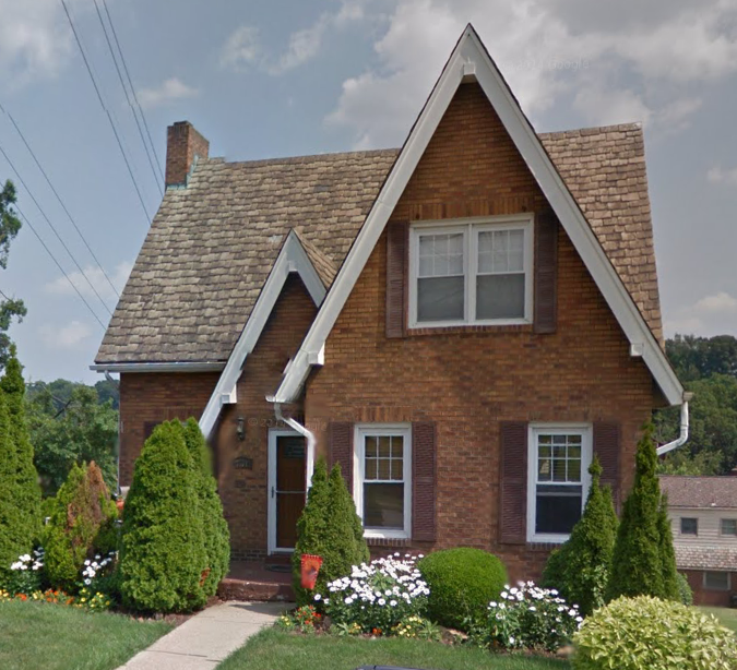 4101 dalewood brentwood pa. Sears House Seeker  Wardway Winthrop Model Home in Pittsburgh  PA