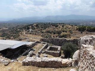 Древние Микены Греция