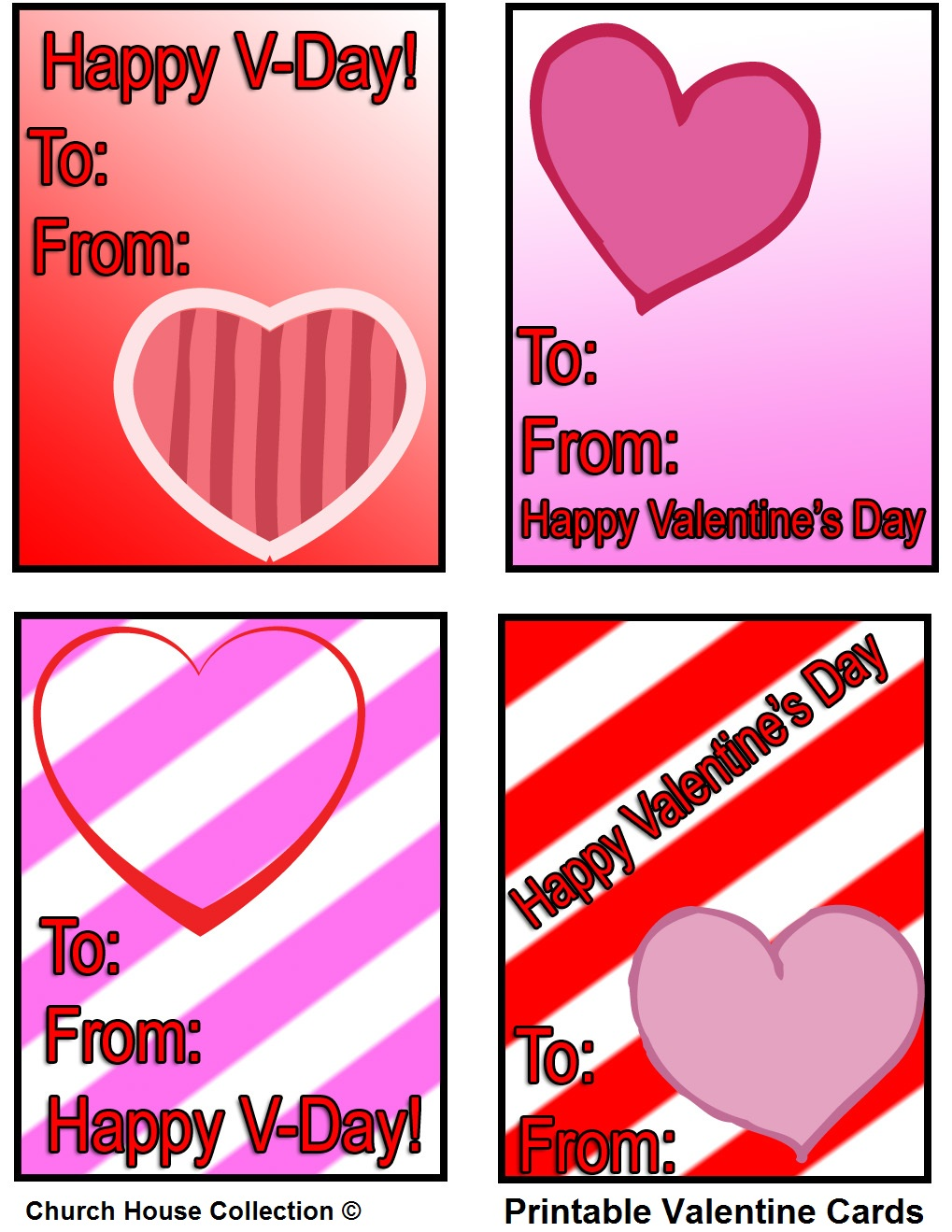 Church House Collection Blog Printable Valentine Cards -5462