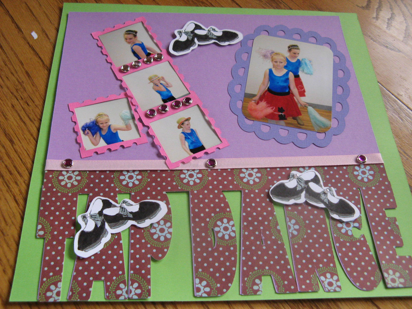 Granny Ma S Creations Scrapbook Pages Of Granddaughters