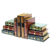 Classic Books Bookends with Drawers - Gift Ideas for Bookworms and Book Lover Gift Guide