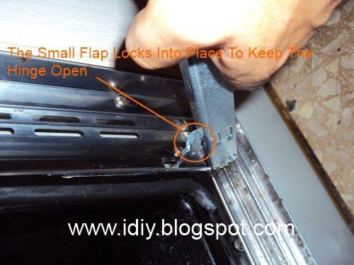 Diary Of A Handyman How To Remove An Oven Door