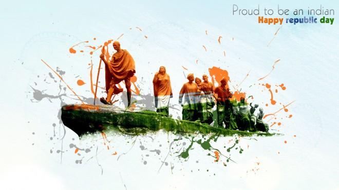 Gandhiji Republic Day Images
