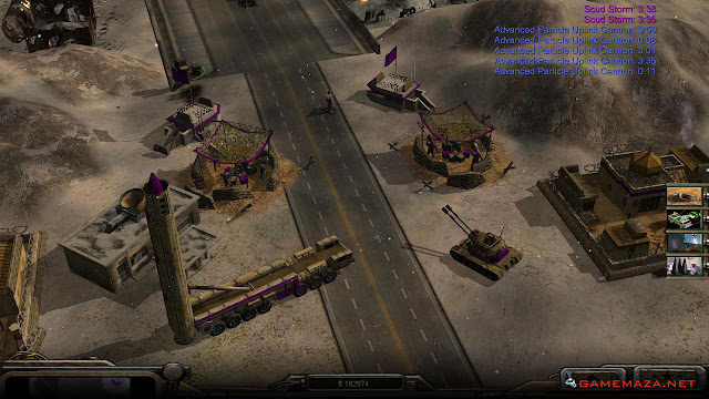 Command & Conquer Generals Zero Hour Gameplay Screenshot 4