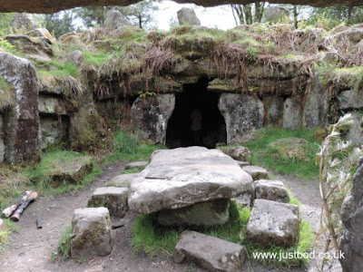 Table & Cave/Tomb, Druid's Temple, Ilton, Yorkshire