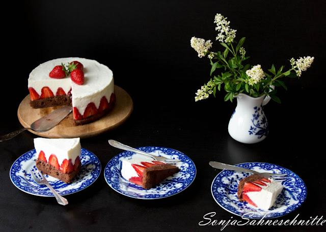 Strawberry Chocolate Cake von Sonja Sahneschnitte