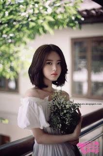 model rambut wanita korea cute