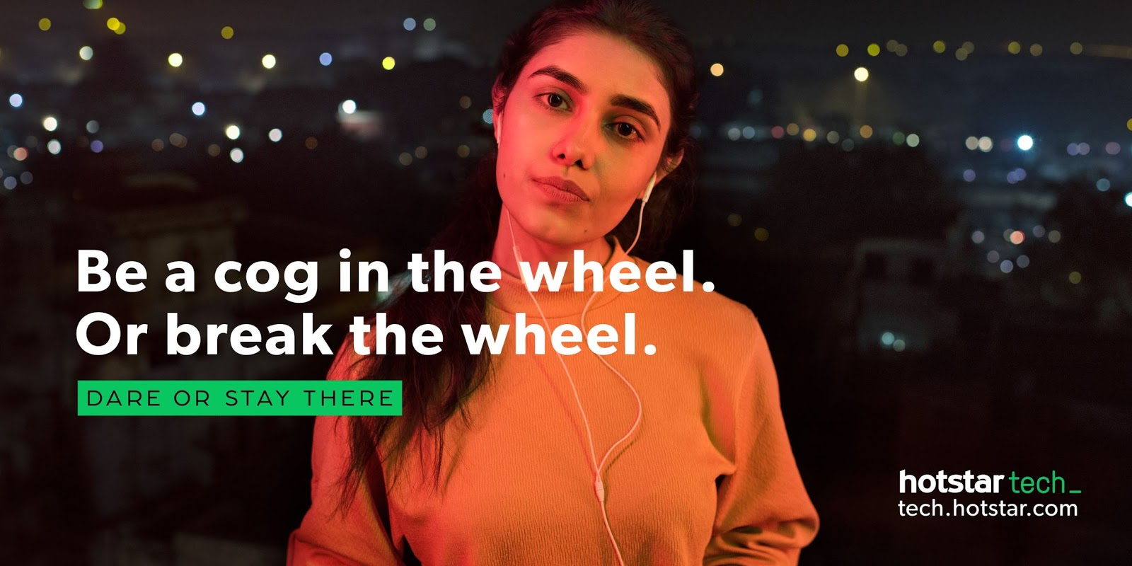 Targeting Top Technology Minds in the Country, Hotstar Launches Bold