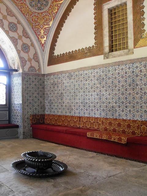 interior del palacio topkapi estambul