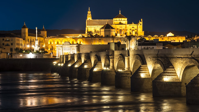 Wallpaper: Roman Bridge from Cordoba
