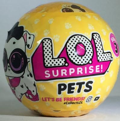 Шар L.O.L. pets series 3 wave 2