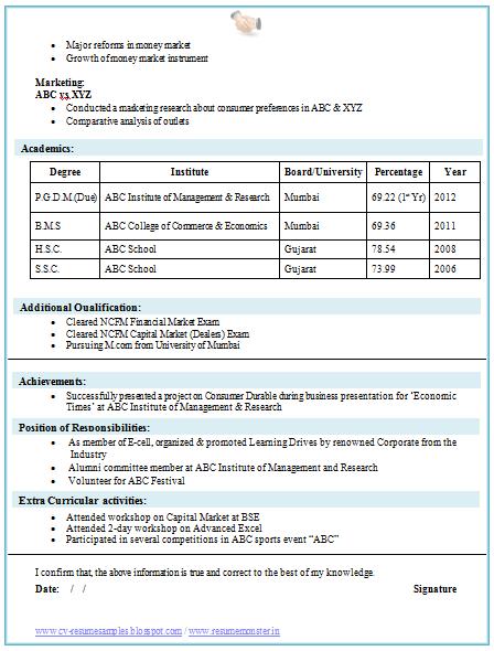 Technical Resume Format For Freshers  resume templates  free     Template net Fresher Resume Sample  software engineer resume sample fresher Fresher