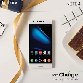 Infinix note 4 android Oreo update