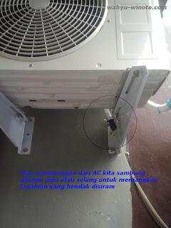 Pemanfaatan Air Pembuangan dari AC