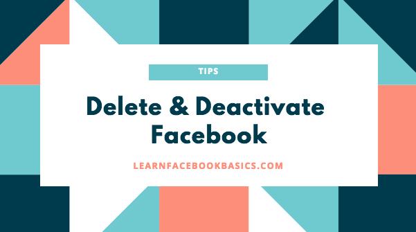 Deactivate Facebook Account _ Delete My Account