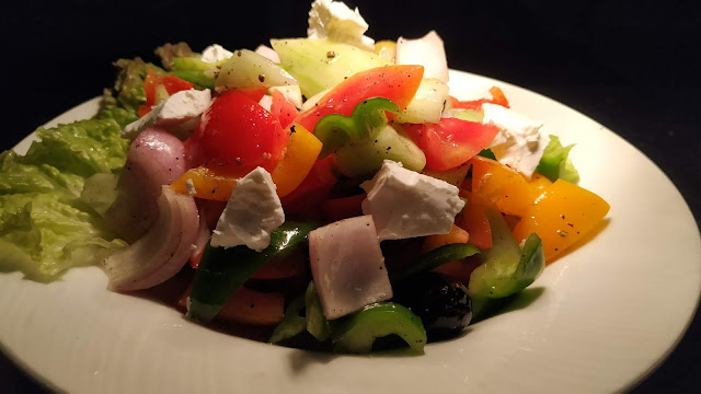 Greek salad Mediterranean diet