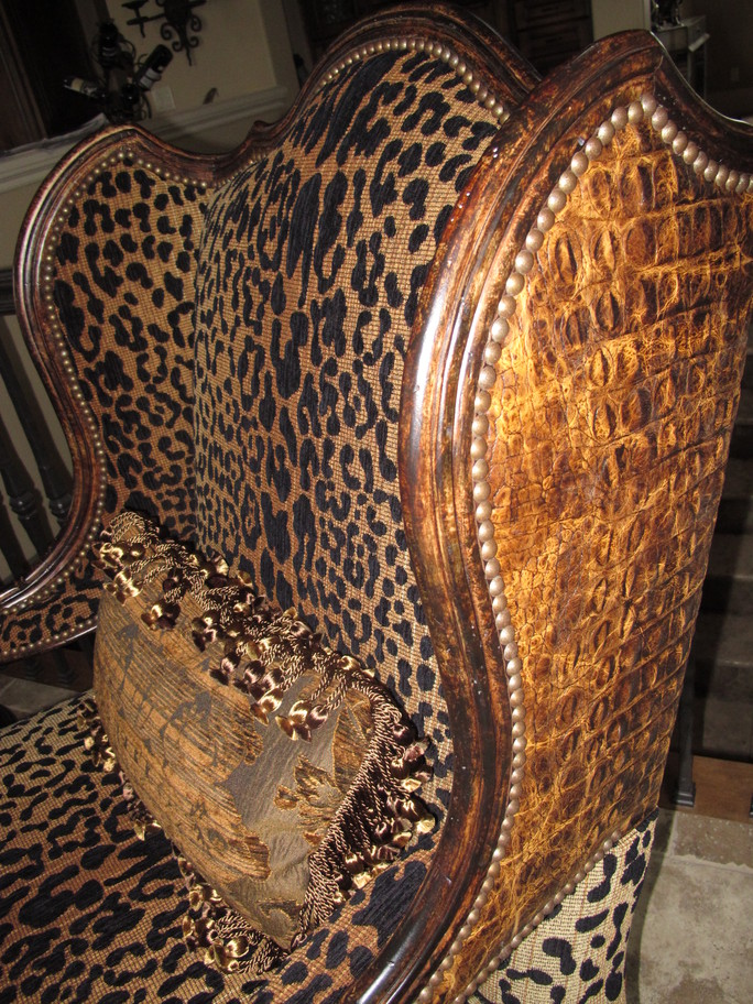Projects Plenty Leopard Print Chair