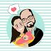 regalos originales bebé | ilustraciones personalizadas Miss Mint
