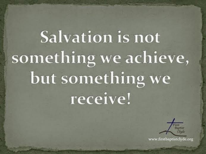 CGSJ (Come Get Some Jesus): Our salvation is a gift through
