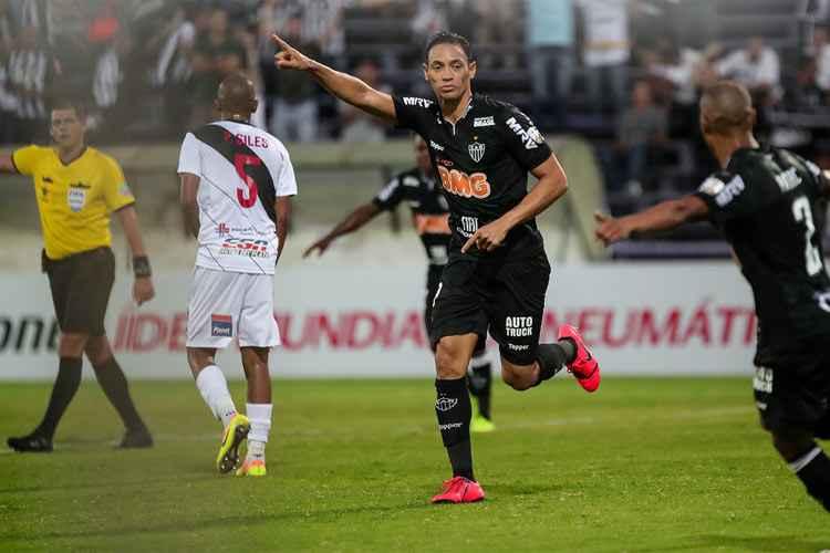 O Atlético-MG estreou na fase prévia da Taça Libertadores da América com  empate em 2 a 2 com o Danubio 57a039a09d222
