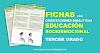 Fichas con orientaciones didácticas para trabajar la Educación Socioemocional en Tercer Grado