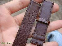 dây đồng hồ da cá sấu
