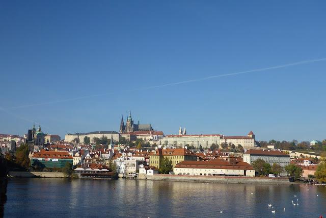 vue sur la château de Prague