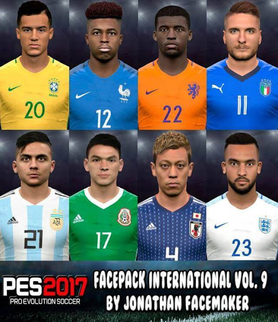 Facepack International Vol. 9 PES 2017